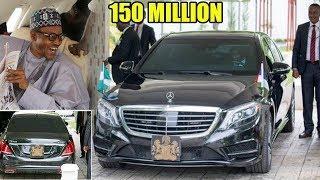 Luxury Cars BUHARI Owns &  Drives wWorth 200 million