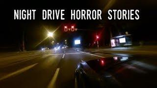 4 Very Creepy NIGHT DRIVE Horror Stories (Re-Recorded)