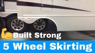 Luxe Luxury fifth wheels - Aluminum Skirting and Fenders