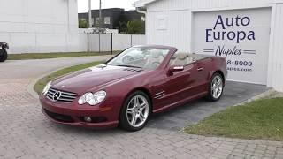 This beautiful 2006 Mercedes-Benz SL500 AMG Sport Roadster is one of the best looking SLs