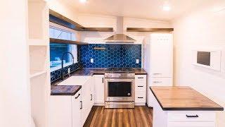 Amazing Luxury Tiny Home on Wheels from California Tiny House