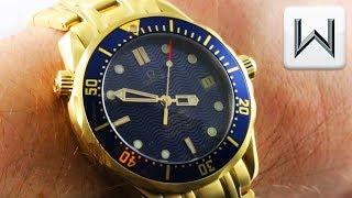 VINTAGE (yes, vintage) Omega Seamaster Diver 300M Mid-Size 2153.80.00 Luxury Watch Review