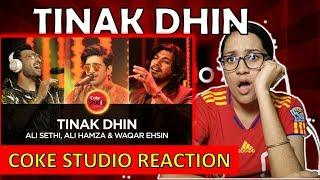 COKE STUDIO TRIO   Tinak Dhin   Reaction Video   Ali Hamza   Ali Sethi   Waqar Ehsin  