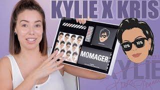 KYLIE COSMETICS X KRIS JENNER COLLECTION | FULL REVIEW