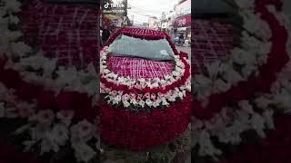 Very beautiful wedding car decorat I My love Pakistan I