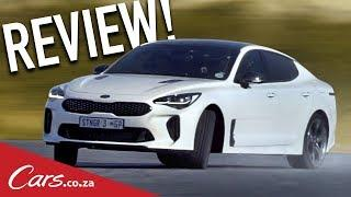 Kia Stinger Review - Sideways in Kia's Rear-wheel-drive Surprise