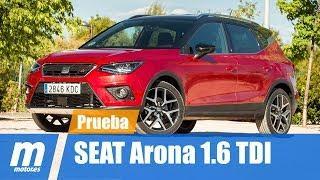 Seat Arona 1.6 TDI 2018 | Prueba y análisis | Testdrive & review en español HD