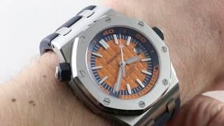 Audemars Piguet Royal Oak Offshore Diver 15710ST.OO.A070CA.01 Luxury Watch Review