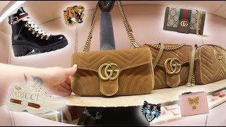 Pre Fall 18 Gucci Luxury Shopping Vlog Bags & Shoes!