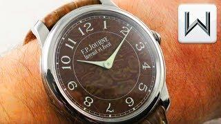 F.P. Journe Chronometre Holland & Holland Damascus Steel Limited Edition Luxury Watch Review