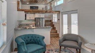 Perfect Luxury Tiny House w/ Spacious Living Room, Kitchen & Bathroom | Small Home Design Ideas