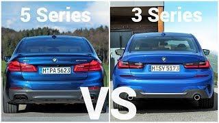 2019 BMW 3 Series vs BMW 5 Series