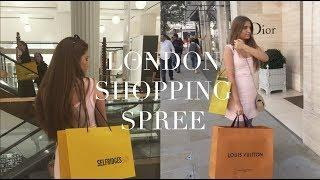 LONDON LUXURY SHOPPING UNBOXING! DREAM BAG + SHOES
