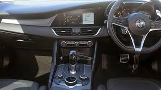 2017 Alfa Romeo Giulia White 8 Speed Sports Automatic Sedan