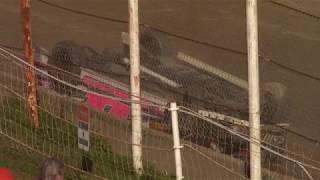 Old Bradford Speedway Mini Stock Flip 7-1-18