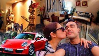 HOW RICH COUPLE DIANA ZUBIRI & ANDY SMITH? NET WORTH BIOGRAPHY KIDS HOUSE LUXURY CAR FASHION WEDDING
