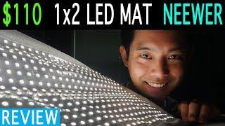 Neewer Flexible LED Review | 1x2 LED Panel | Daylight | Wireless Dimming | 3280 Lux at 3ft