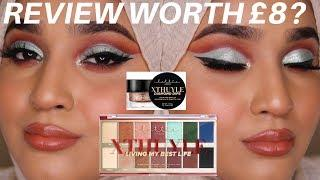 Lottie Xthuyle Living My Best Life Eye Shadow Palette Review Swatch Tutorial