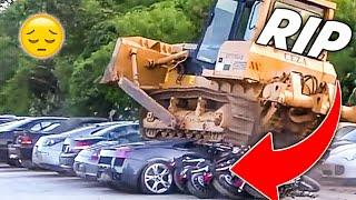 Luxury Cars Worth Over $5,000,000 Million Destroyed In Philippines!!