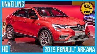 2019 Renault Arkana Unveiling