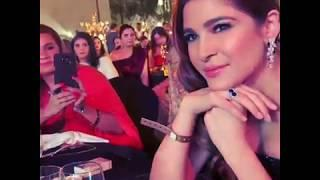 Ayesha omer award show in INDIA | BEHIND THE SEEN |