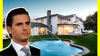 Scott Disick House Tour $8800000 Hidden Hills Mansion Luxury Lifestyle 2018