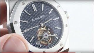 Audemars Piguet Royal Oak Tourbillon Extra-Thin 26510ST.OO.1220ST.01 Luxury Watch Review