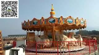 Amusement Rides Luxury Carousel  Attraction For Family rides