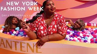 REFINERY 29ROOMS, PLUS SIZE LUXURY + ELOQUII PREVIEW | NYFW DAY 2