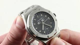 Audemars Piguet Royal Oak Offshore Full Calendar 25807ST.O.1010ST.01 Luxury Watch Review