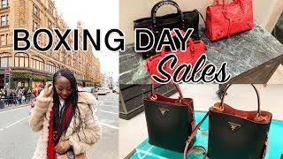 Boxing Day Luxury Shopping at Harrods + Meet my Dad!