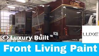 Luxe luxury fifth wheel 46FL - Front living exterior Paint