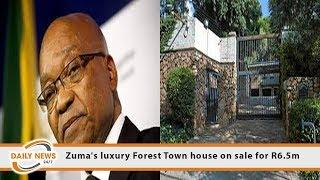 Zuma's luxury Forest Town house on sale for R6.5m
