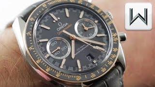 Omega Speedmaster Racing Chronograph (329.23.44.51.06.001) Luxury Watch Review