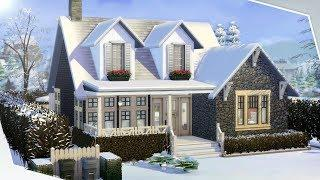 LUXURY STARTER HOME The Sims 4 | Real Time Build ????