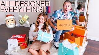 OUR LUXURY CHRISTMAS GIFT HAUL | Tiffany & Co., Chanel, Louis Vuitton