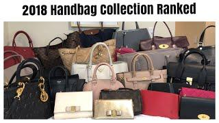 2018 Handbag Collection- Ranked Most to Least Used   Luxury, Designer, Contemporary, Vintage