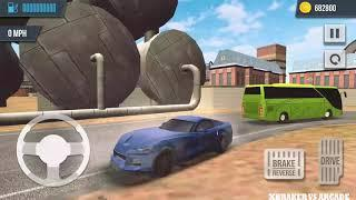 Extreme Car Sports - Racing & Driving Simulator 3D | New Blue Luxury Car Unlocked - Android GamePlay