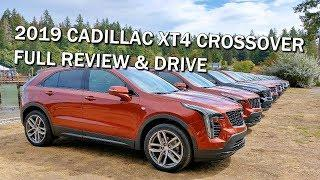 2019 CADILLAC XT4 LUXURY CROSSOVER - FULL REVIEW & ROAD TRIP