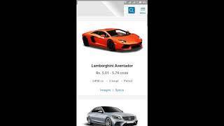 Luxury cars of india