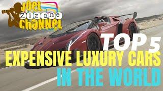 TOP 5 | MOST EXPENSIVE LUXURY CARS IN THE WORLD