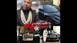 Floyd Mayweather Shows Off Luxury Cars Collection 2019