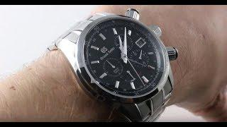 Grand Seiko Spring Drive GMT Chronograph SBGC203 Luxury Watch Review