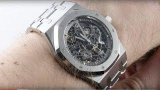 Audemars Piguet Royal Oak Openworked 15305ST.OO.1220ST.01 Luxury Watch Review