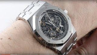 Audemars Piguet Royal Oak Openworked 15305ST.OO.1220ST.01 Luxury Watch Review