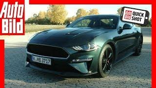 Quickshot: Ford Mustang Bullitt (2018) Fahrbericht / Review / Test