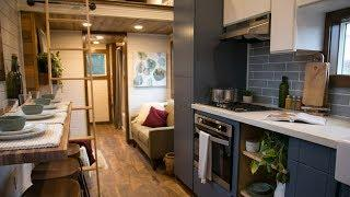 Tiny Traveling Dream Home show Tiny Luxury from Tiny Heirloom