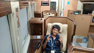 Jelajah Kereta Eksekutif Sleeper (Luxury) Argo Bromo Anggrek