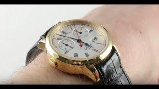 Glashutte Original Senator Rattrapante 99-01-01-01-04 Luxury Watch Review