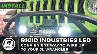 Jeep JL Wrangler Install: Rigid Industries Dually PRO LED Spot Lights